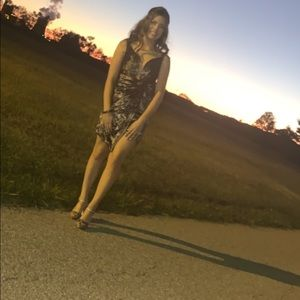 One of a kind Alyce homecoming dress